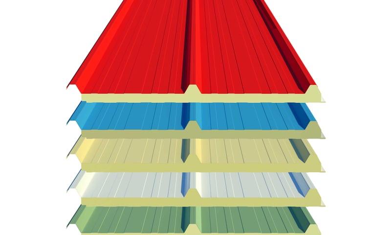 لیست قیمت ساندویچ پانل سقفی 5-12سانتی