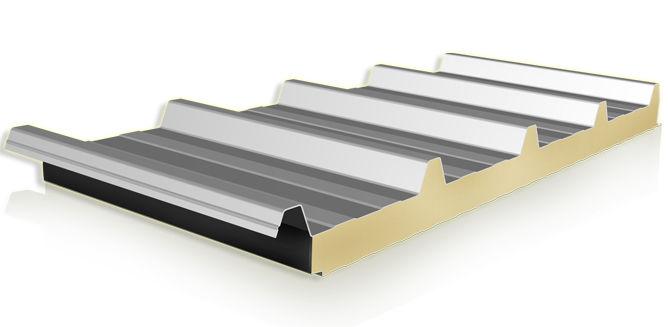 نمونه کار ساندویچ پانل سقفی