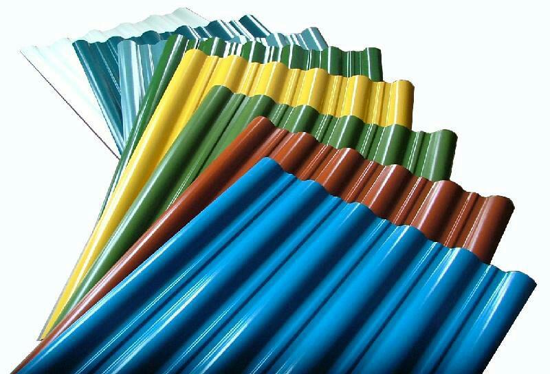 ضخامت و مشخصات ورق گالوانیزه رنگی