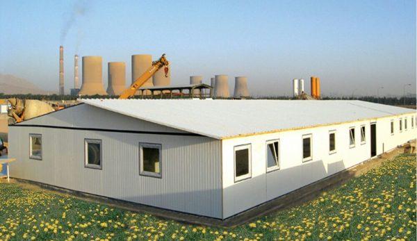 اجرای ساختمان پیش ساخته فروش و نصب ساندویچ پانل ساندویچ پانل ماموت