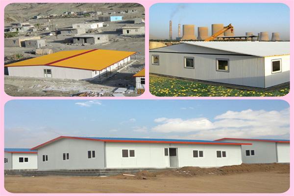 نصب و ساخت ساختمان پیش ساخته