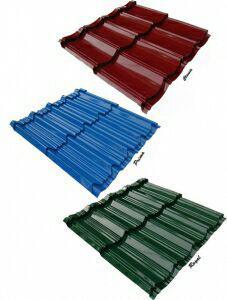 ورق شیروانی - ساندویچ پنل سقفی - تولید و عرضه ورق شیروانی