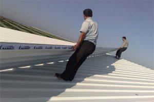 نصب ساندویچ پانل سقفی با گارانتی