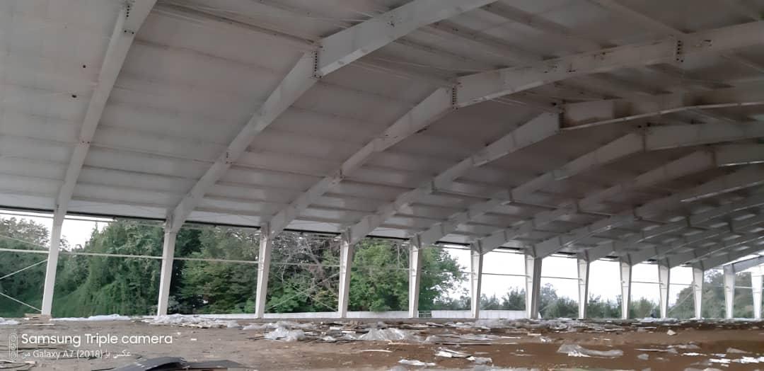 نصب پانل سقفی   نصاب ساندویچ پنل سقفی_ ساندویچ پانل ماموت